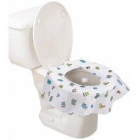 Summer Infant Keep Me Clean Disposable Potty Protectors, Green/White, 10 Count (Pack of 4)