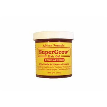 African Formula Super Grow Hair Gel Regular Hold 16oz