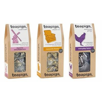 Teapigs Best Sellers Variety Bundle - Liquorice & Peppermint, Chamomile Flowers, and English Breakfast (3 x 15 Tea Bag Boxes)