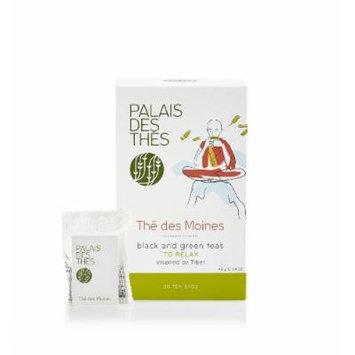 Palais des Thés Thé des Moines Black & Green Tea, 20 Tea Bags (40g/1.4oz)
