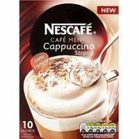 Nescafe Instant Cafe Menu Cappuccino Range (Cappuccino Strong)
