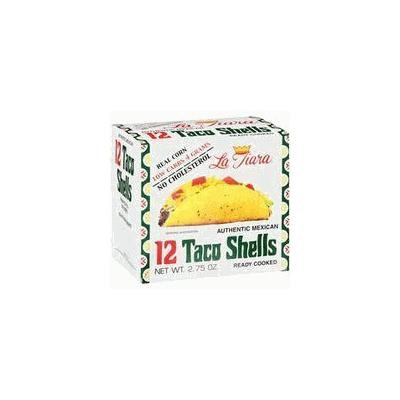 La Tiara Taco Shells, 12-count Box (Pack of Six Boxes)