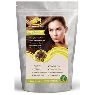 Reetha Powder - 100% Natural & Pure Hair Conditioner - 100 grams