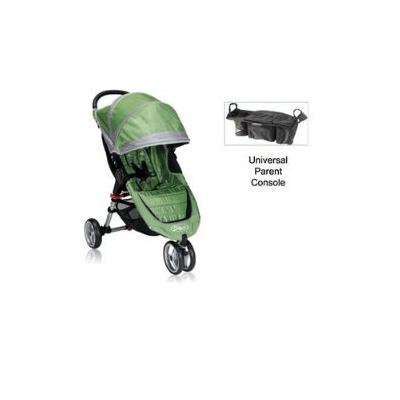 Baby Jogger City Mini Stroller WITH Parent Console (Green/Gray)
