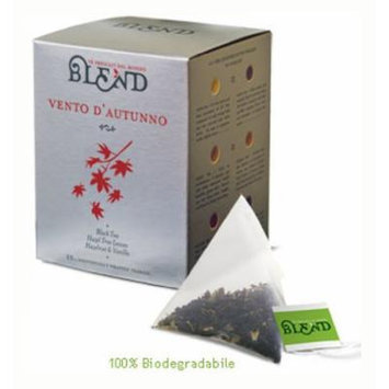 Vento D'Autunno Tea, 15-Count Individually Wrapped Pyramid Tea Bags