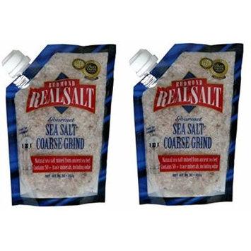 Real Salt Sea Salt Coarse - Grinder (2 Pack)
