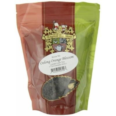 English Tea Store Loose Leaf, Oolong Orange Blossom Estate Tea Pouches, 4 Ounce