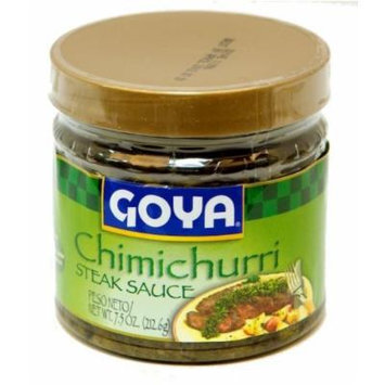 Goya Chimichurri Steak Sauce with Spanish Olive Oil 7.5 oz (212.6g) (6 jars)