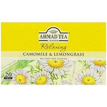 Ahmad Teas - Camomile & Lemongrass 1.4oz - 20 Tea Bags