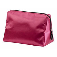 Caboodles Pixie Perfect Cosmetic Bag, Pink Satin, Large, 0.27 Pound