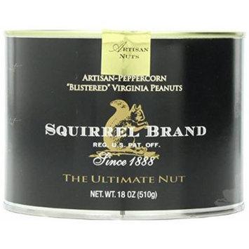 Squirrel Brand Artisan-Peppercorn Blistered Virginia Peanuts - 18 Oz. Can