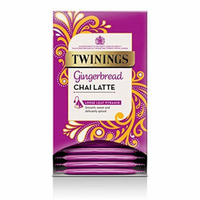Twinings® Gingerbread Chai Latte  Wrapped Pyramid Tea