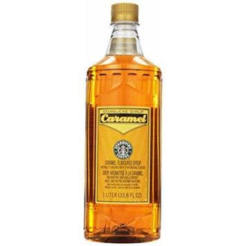 Starbucks® Caramel Syrup - 1 Liter (33..8 Fl Oz)