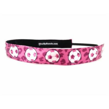 One Up Bands Women's Cheetah Soccer One Size Fits Most
