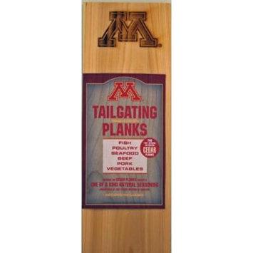 Chef Locke University of Minnesota TailGating BBQ Plank