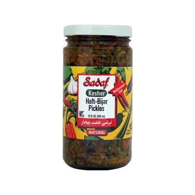 Sadaf Haft Bijar Pickles 12 Oz (Kosher)