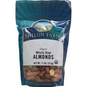Shiloh Farms: Organic Whole Raw Almonds 11 Oz (6 Pack)
