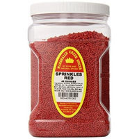 Marshalls Creek Spices Family Size Sprinkles, Red, 48 Ounce