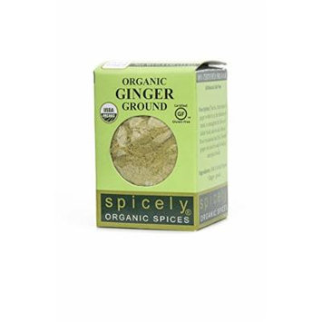 Spicely Organic Ginger Ground - Compact