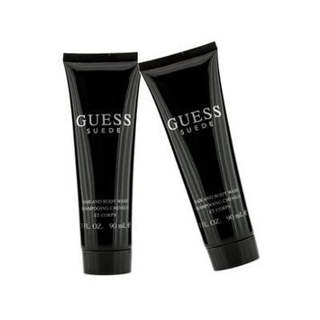 Guess Suede For Men Hair & Body Wash Duo Pack (Unboxed) 2x90ml/3oz