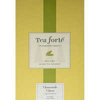 Tea Forté® Event Box - 48 Silken Pyramid Infusers - Chamomile Citron