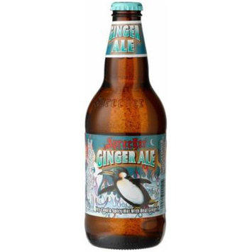 Sprecher GINGER ALE FROM GLENDALE, WISCONSIN IN THE MIDWEST, 16-Ounce Glass Bottle (Pack of 12)