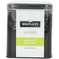 Bentley's Harmony Collection Tin, Superfruit Green Tea, 50 Count