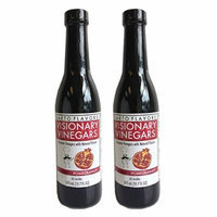 Balsamic Vinegars - Kosher, OU-Parve (Natural Pomegranate) (2 Pack) 12.7 FL Bottles