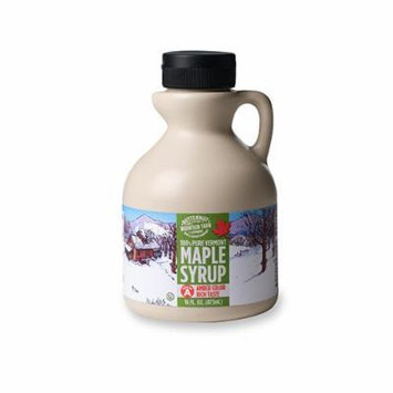 Butternut Mountain Farm Pure Maple Syrup, Grade A Amber Rich, 1-Pint Jug