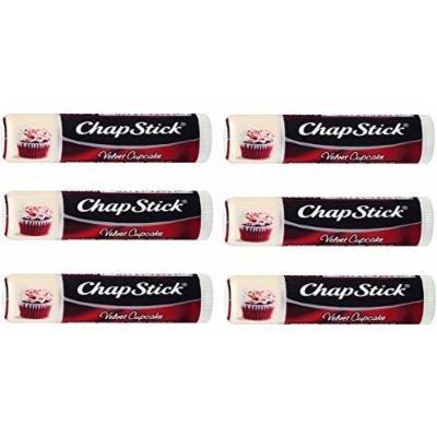 ChapStick Velvet Cupcake, 0.15oz (Pack of 6)