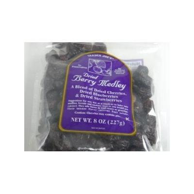 Trader Joe's Dried Berry Medley, 8 Ounce, (Pack of 2)