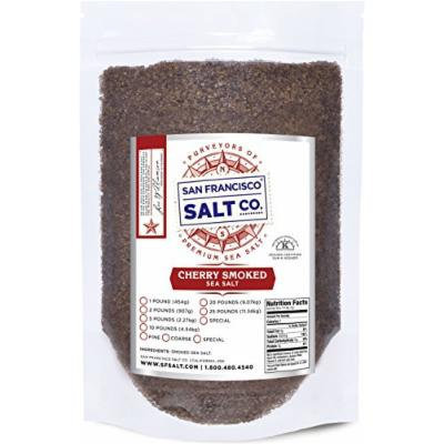 Cherrywood Smoked Sea Salt (5lb Bag - Coarse Grain)