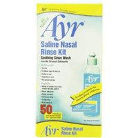 Ayr Saline Nasal Rinse Kit Soothing Sinus Wash Plus Applicator Bottle, 2 Count