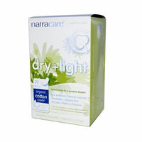 New - Natracare Dry and Light Individually Wrapped Pads - 20 Pack