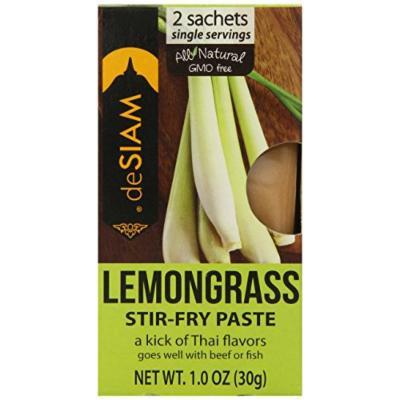 deSIAM Stir Fry Paste, Lemongrass, 1 Ounce