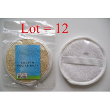 Loofah / Terry Facial Face Complexion Buff Exfoliating Pad (Multi pack) (Free Shipping) (12 pack)