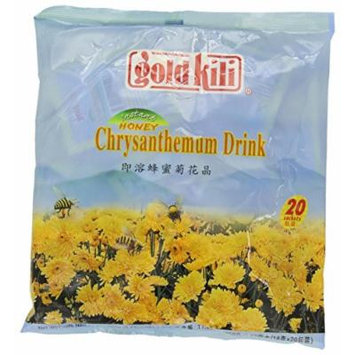 Gold Kili Instant Chrysanthemen Drink with Honey, 20-Count Packets (Pack of 4)