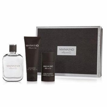 Kenneth Cole Mankind 3 Pc. Set: Eau de Toilette Spray 100ml/3.4oz, Aftershave Balm 100ml/3.4oz, Alcohol Free deodorant 75g/2.6oz
