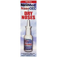 NeilMed Nasogel Drip Free Gel Spray, 1 Fluid Ounce Pack of 6