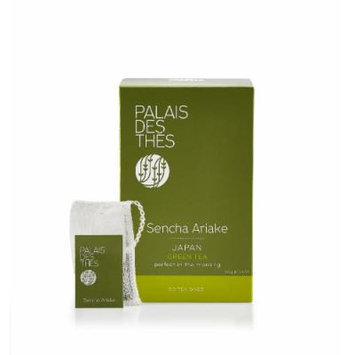 Palais des Thés Sencha Ariake Japanese Green Tea, 20 Tea Bags (40g/1.4oz)