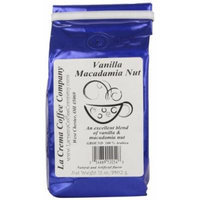 La Crema Coffee Vanilla Macadamia, 12-Ounce Packages (Pack of 2)