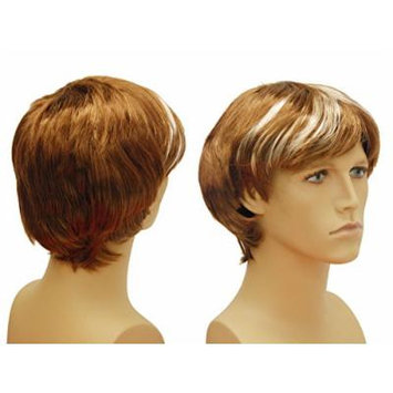 (WG-M10-30A) Unisex (Male/Female) Wig, short hair.