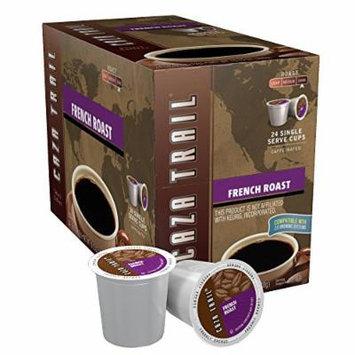 Caza Trail Coffee, French Roast, 24 Single Serve Cups