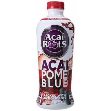 Acai Roots Juice, Acai, Pomegranate and Blueberry, 32 Ounce (Pack of 3)