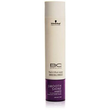 BC Smooth Shine Shampoo ( For Unmanageable Hair ) - Schwarzkopf - Bonacure - 250ml/8.3oz