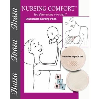 Braza Nursing Comfort Disposable Maternity Nursing Pads 36 Pieces Style 3020