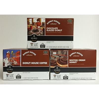 Donut House TRIPLE PLAY K-Cup Bundle