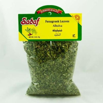 Sadaf Dried Persian Fenugreek Leaves (Shanbalileh), 2 Ounce Bag