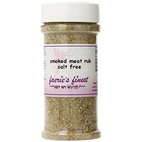 Faeries Finest Smoked Meat Rub, Salt Free, 4 Ounce