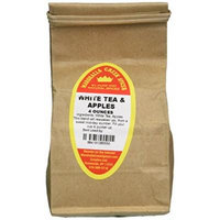Marshalls Creek Spices Loose Leaf Tea, White and Apples, 4 Ounce